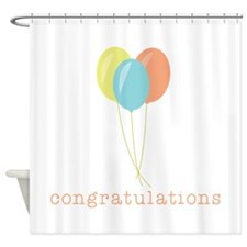 Congratulations Shower Curtain