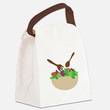 Salad Bowl Canvas Lunch Bag