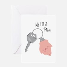 My First Place Greeting Cards