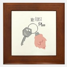 My First Place Framed Tile