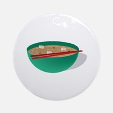 Bowl of Soup Ornament (Round)