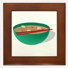 Bowl of Soup Framed Tile