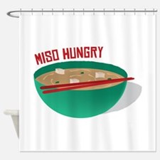 Miso Hungry Shower Curtain
