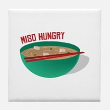 Miso Hungry Tile Coaster