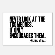 Trombone Quote Postcards (Package of 8)