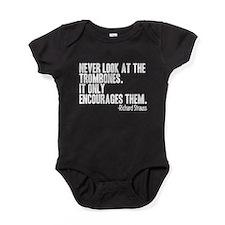 Trombone Quote Baby Bodysuit