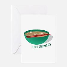 Tofu Goodness Greeting Cards