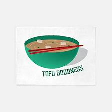 Tofu Goodness 5'x7'Area Rug