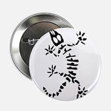 "Skeleton Lizard 2.25"" Button (10 pack)"