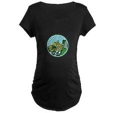 Watermill House Circle Retro Maternity T-Shirt
