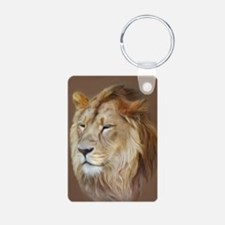 Painting Lion Keychains