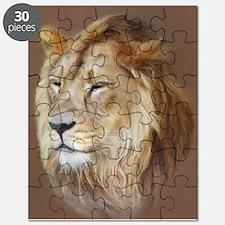 Painting Lion Puzzle