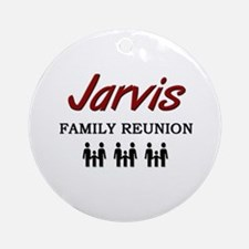 Jarvis Family Reunion Ornament (Round)