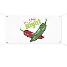 Chili Night Banner