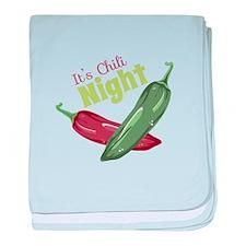 Chili Night baby blanket
