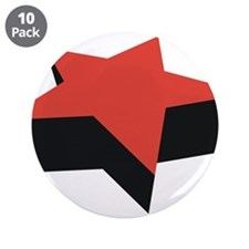 """Star 3.5"""" Button (10 pack)"""
