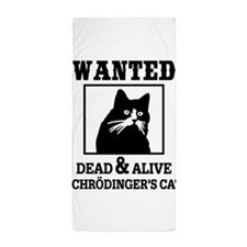 Wanted Dead and Alive Beach Towel