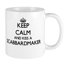 Keep calm and kiss a Scabbardmaker Mugs