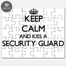 Keep calm and kiss a Security Guard Puzzle
