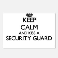 Keep calm and kiss a Secu Postcards (Package of 8)