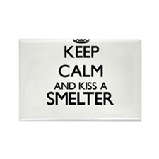 Keep calm and kiss a Smelter Magnets