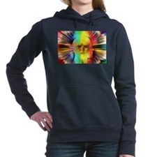 Inner Psyche Abstract Fractal Women's Hooded Sweat
