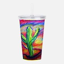 Saguaro Cactus, Southwest art! Acrylic Double-wall