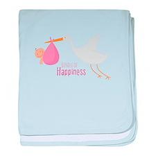 Bundle of Happiness baby blanket