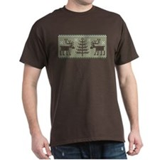 Reindeer Ugly Sweater T-Shirt