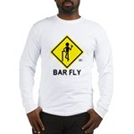 Warning Bar Fly Long Sleeve T-Shirt