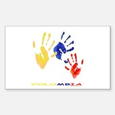 Colombian hands Decal
