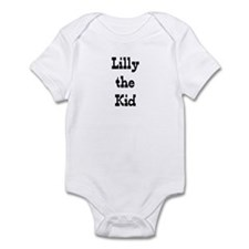 Lilly the Kid #4 Infant Bodysuit