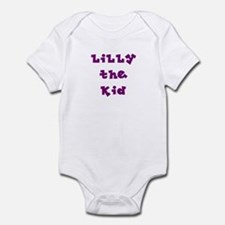 Lilly the Kid #3 Infant Bodysuit