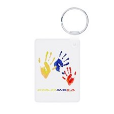 Colombian hands Keychains