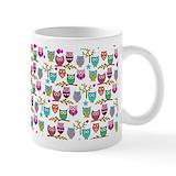 Owls Small Mugs (11 oz)