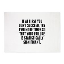 Statistically Significant Failure 5'x7'Area Rug