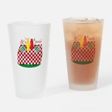 Lets Have a Picnic Drinking Glass