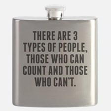 There Are 3 Types Of People Flask