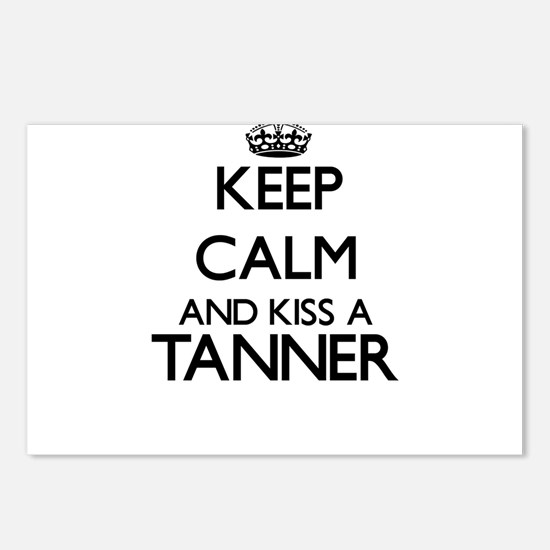 Keep calm and kiss a Tann Postcards (Package of 8)