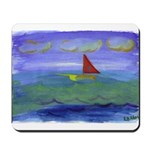 Calm Tropical Voyage Mousepad