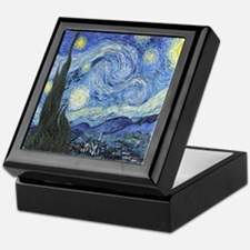 Van Goghs Starry Night Keepsake Box