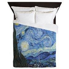 Van Goghs Starry Night Queen Duvet