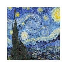 Van Goghs Starry Night Queen Duvet