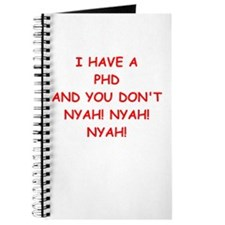 phd joke Journal