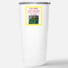 i love foosball Travel Mug