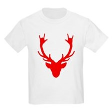 Reindeer with I Love You hand gesture T-Shirt