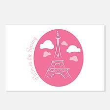 Paris In Spring Postcards (Package of 8)