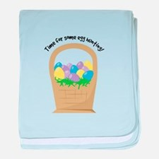 Egg Hunting baby blanket