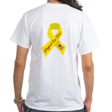 Support Our Troops Ribbon Shirt