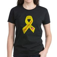 Support Our Troops Ribbon Tee